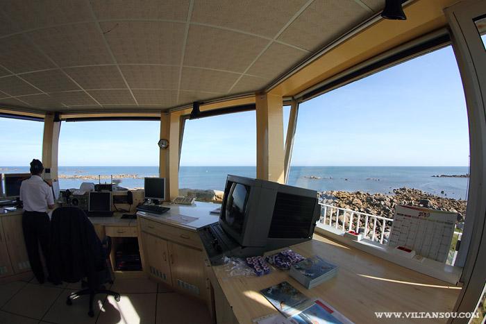 Sémaphore de Brignogan-Plage : vue panoramique