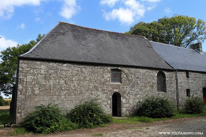 Le château de Maillé : la Chapelle