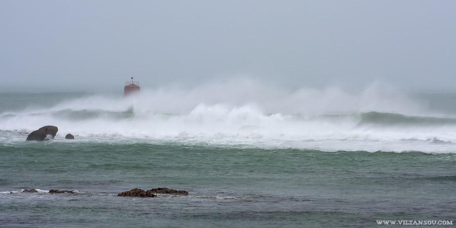 Tempête du 23 décembre 2013 sur le Finistère